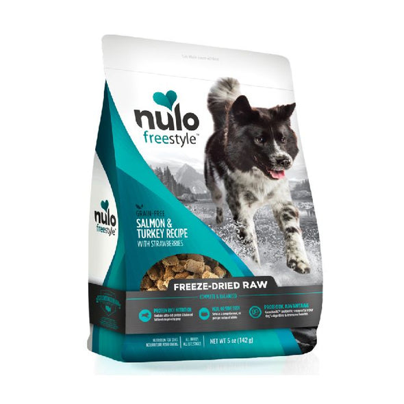 Nulo Freestyle Freeze-Dried Raw Salmon & Turkey with Strawberries for Dogs (5662400577690)