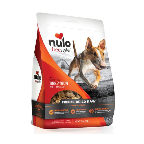 Nulo Freestyle Freeze-Dried Raw Turkey with Cranberries for Dogs