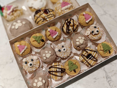 Paw of Gold Holiday Pupcakes *PRESALE ONLY*