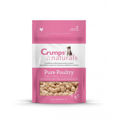Crumps Freeze Dried Pure Poultry Cat Treats (4749861060667)