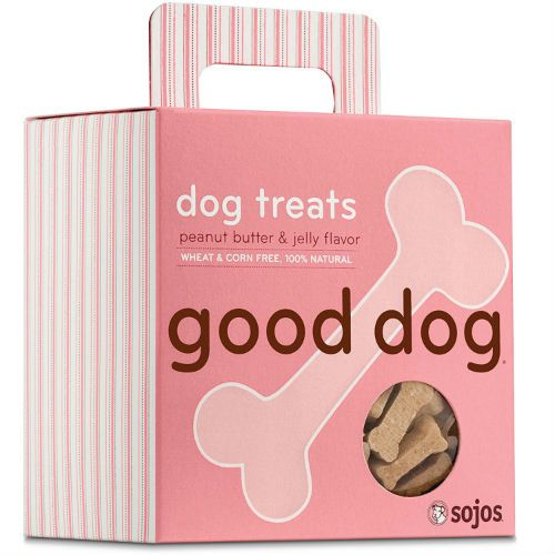 Sojos Peanut Butter & Jelly Good Dog Treats