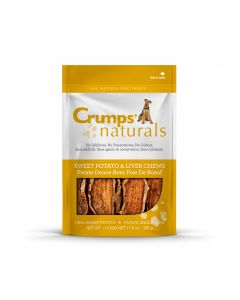 Crumps Sweet Potato & Liver Dog Chews (4721230512187)