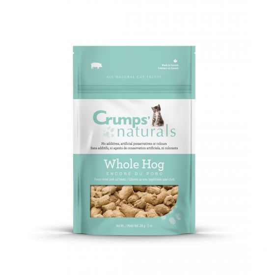 Crumps Freeze Dried Whole Hog Cat Treats (4749858046011)