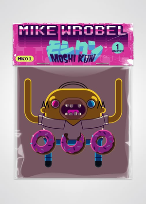 01 Homer Simpson-Moshi Kun Cards-Mike Wrobel Shop-Mike Wrobel Shop