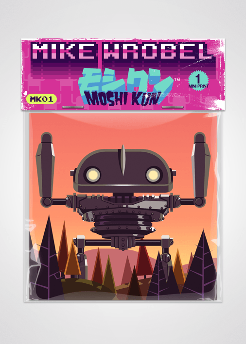 03 Iron Giant-Moshi Kun Cards-Mike Wrobel Shop-Mike Wrobel Shop