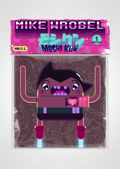 04 Atom-Moshi Kun Cards-Mike Wrobel Shop-Mike Wrobel Shop