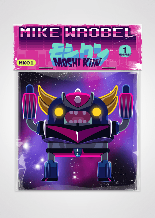 05 Grendizer-Moshi Kun Cards-Mike Wrobel Shop