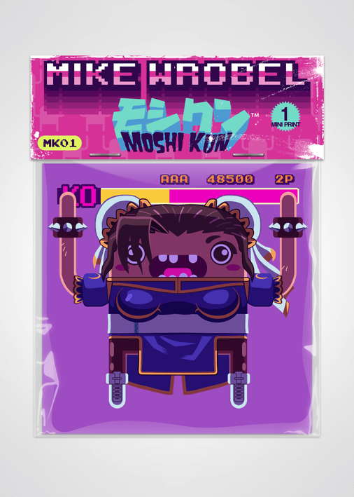 06 Chun Li-Moshi Kun Cards-Mike Wrobel Shop-Mike Wrobel Shop