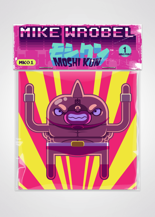 07 Kinnikuman-Moshi Kun Cards-Mike Wrobel Shop-Mike Wrobel Shop