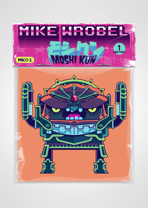 09 Ganon-Moshi Kun Cards-Mike Wrobel Shop-Mike Wrobel Shop