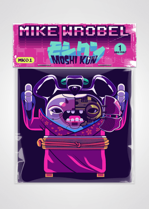 11 Robot Geisha Ghost in the Shell Pack-Moshi Kun Cards-Mike Wrobel Shop-Mike Wrobel Shop