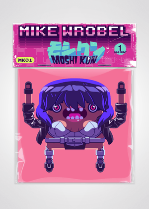 13 Motoko Kusanagi Ghost in the Shell Pack-Moshi Kun Cards-Mike Wrobel Shop-Mike Wrobel Shop