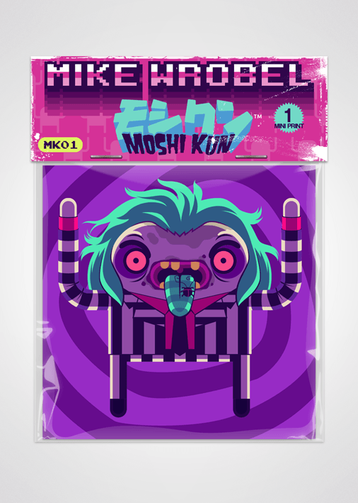 14 Beetlejuice-Moshi Kun Cards-Mike Wrobel Shop-Mike Wrobel Shop
