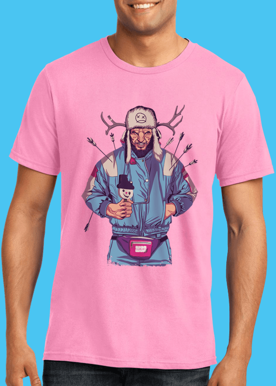 Mike Wrobel Shop 80/90s Thrones Wun Wun T Shirt Man Charity Pink Small Medium Large X-Large 2X-Large