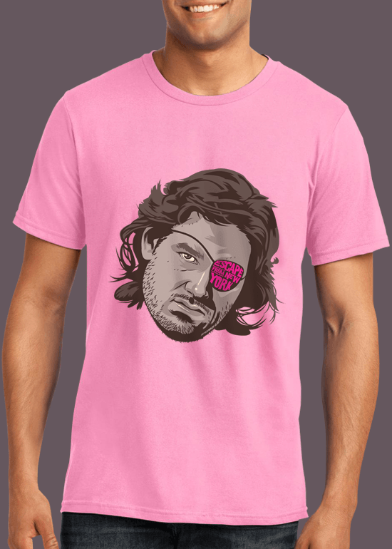 Mike Wrobel Shop Escape From New York T Shirt Man Charity Pink Small Medium Large X-Large 2X-Large