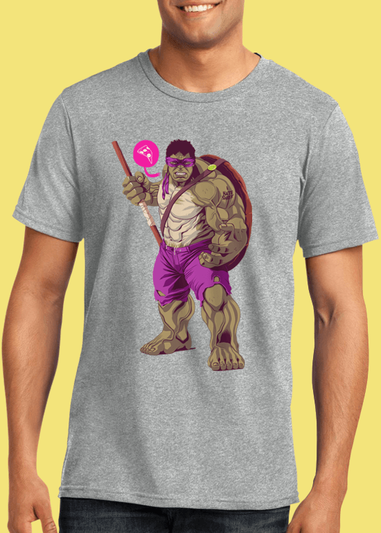 Mike Wrobel Shop The Hulk T Shirt Man Heather Grey Small Medium Large X-Large 2X-Large