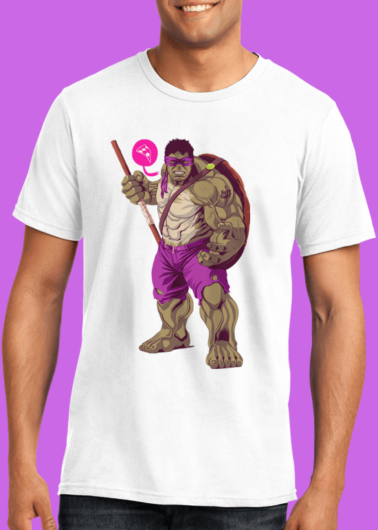 Mike Wrobel Shop The Hulk T Shirt Man White Small Medium Large X-Large 2X-Large
