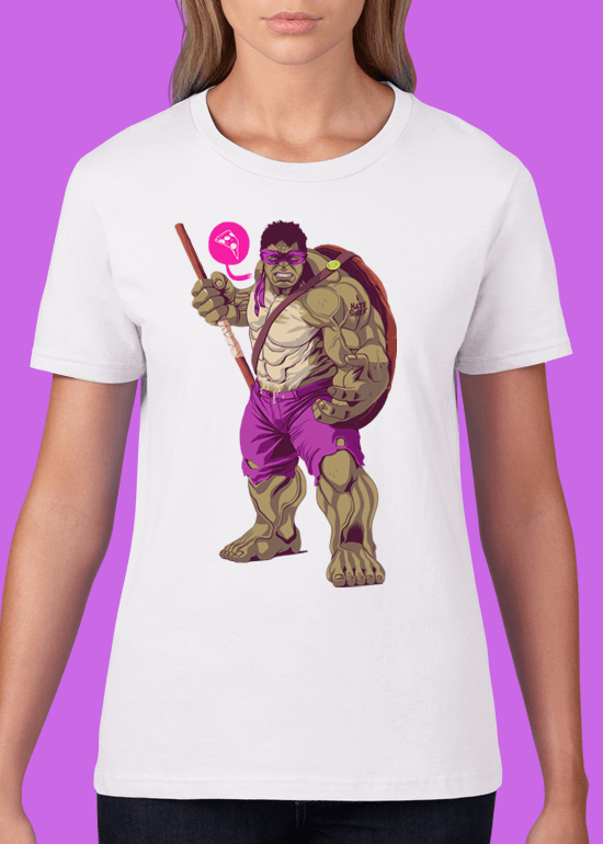 Mike Wrobel Shop The Hulk T Shirt Woman White Small Medium Large X-Large 2X-Large