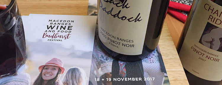 Save the date - Macedon Ranges WINE + FOOD Budburst Festival 2017