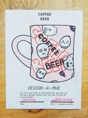 Coffee Beer Coloring Book Sample
