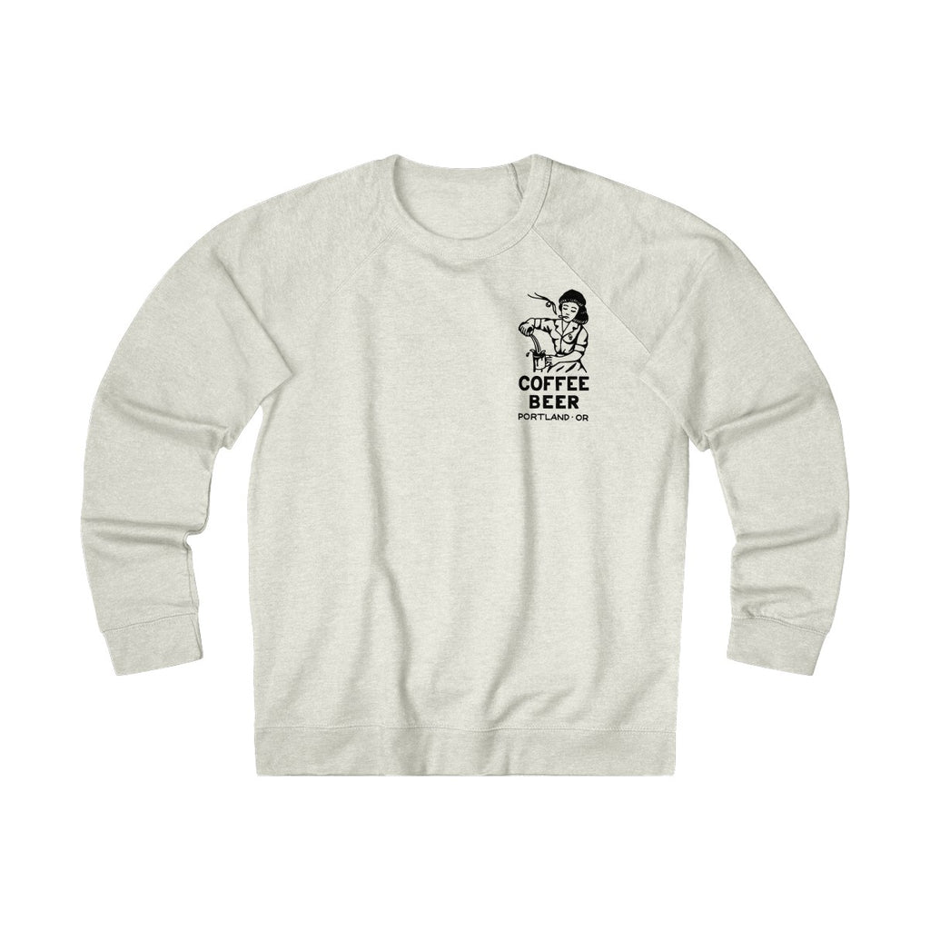 """Sad Waitress"" Unisex French Terry Crew"