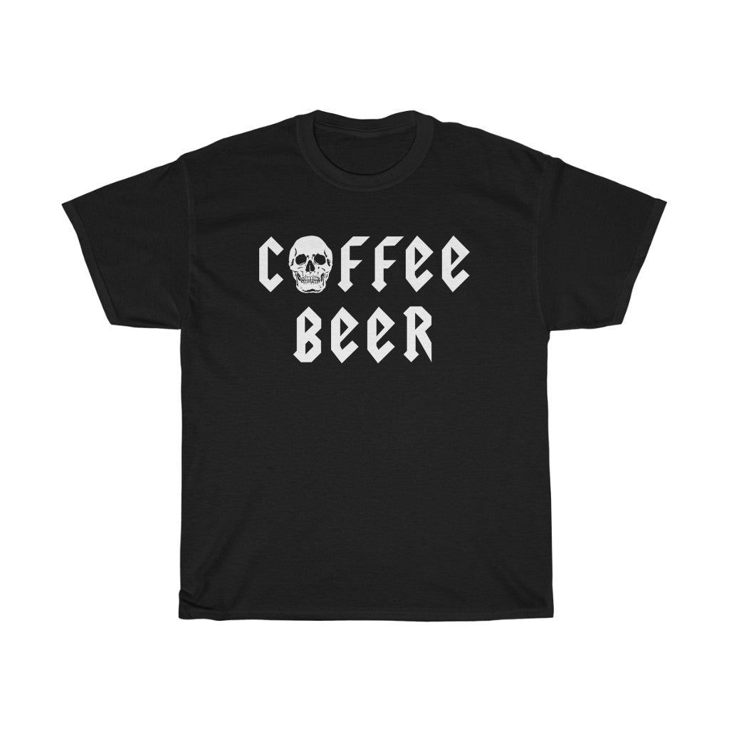 """F*ck Racism Drink Beer"" Unisex Heavy Cotton Tee"