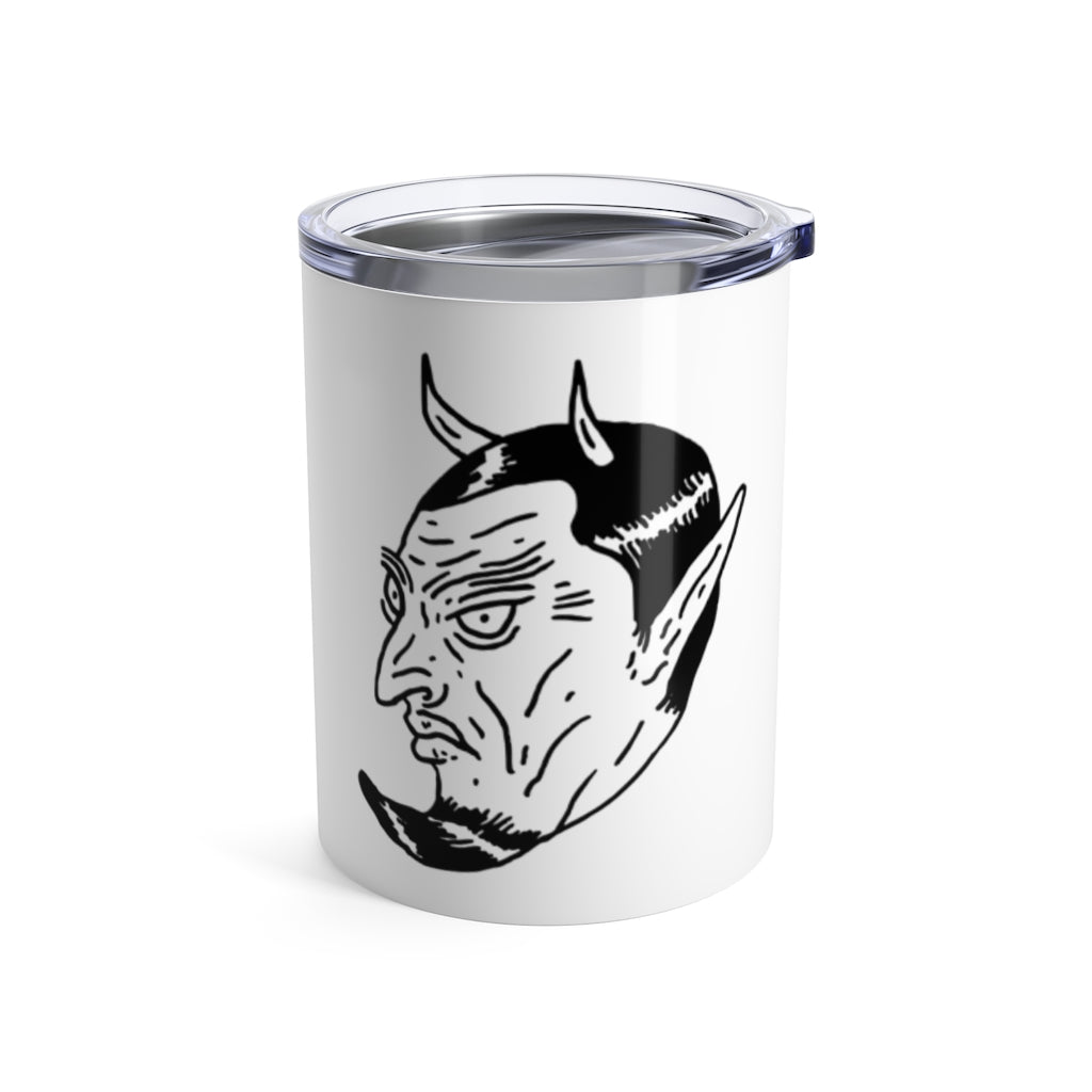 """Devil In The Decaf"" Tumbler 10oz"