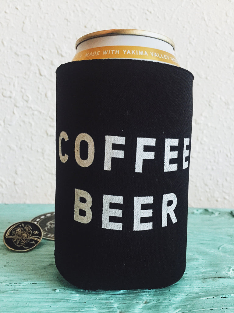 "Coffee Beer ""Beer Before Decaf"" Logo Side"