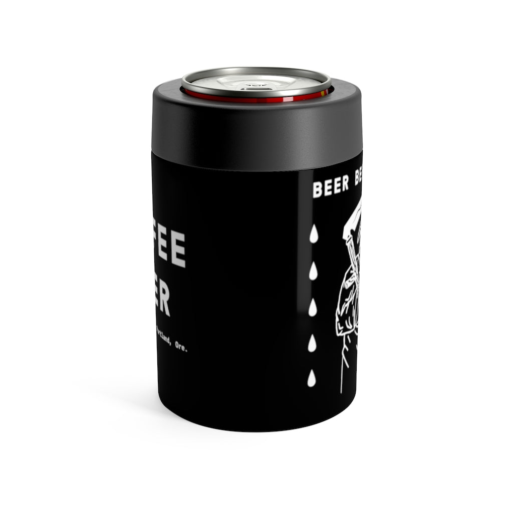 """Beer Before Decaf"" Can Holder"