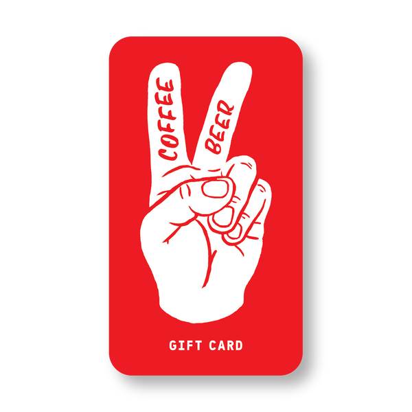 Coffee Beer Digital Gift Cards