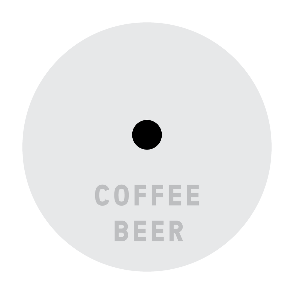 """Before Before Decaf"" Enamel Lapel Back from Coffee Beer"