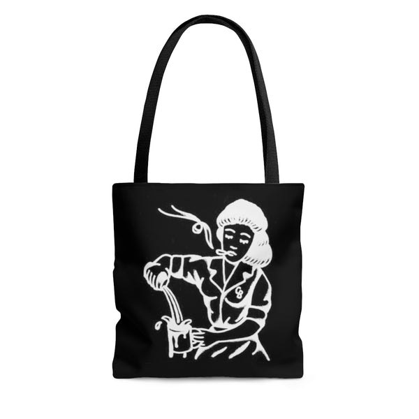 """Sad Waitress"" AOP Tote Bag"