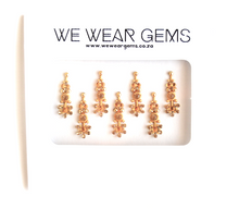 Sparkle Gold Bindi Pack - We Wear Gems