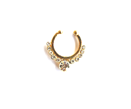 Diamond Septum - We Wear Gems