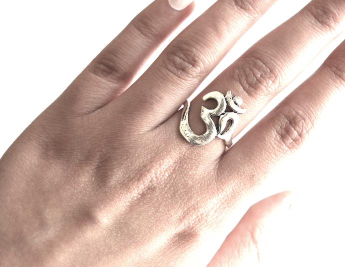 Aum Ring Set (6 pieces)
