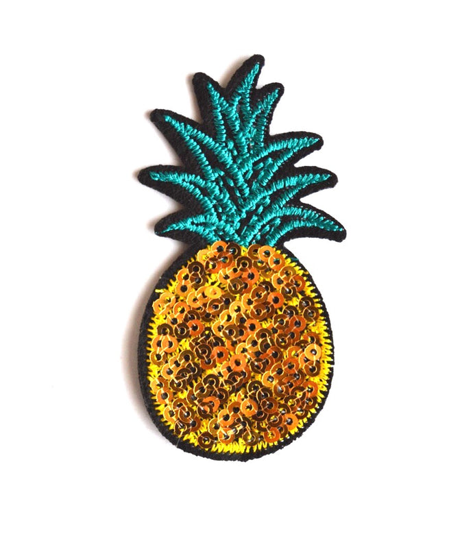 Sequins Pineapple Patch - We Wear Gems