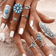 Desert Ring Set (9 pieces) - We Wear Gems