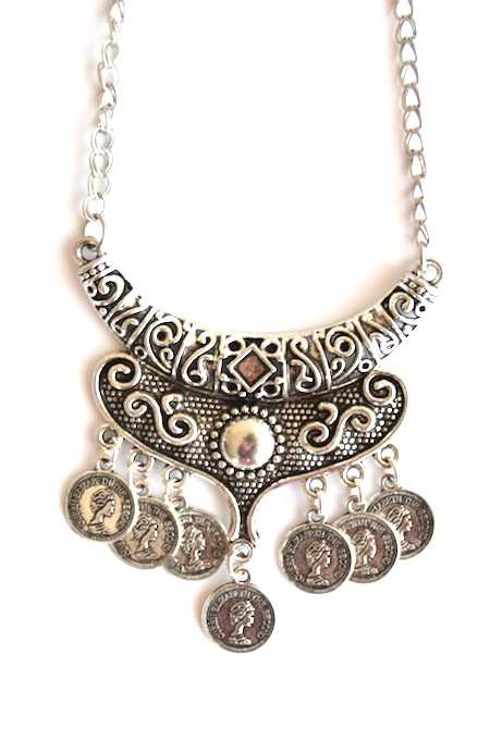 Antique Boho Necklace - We Wear Gems