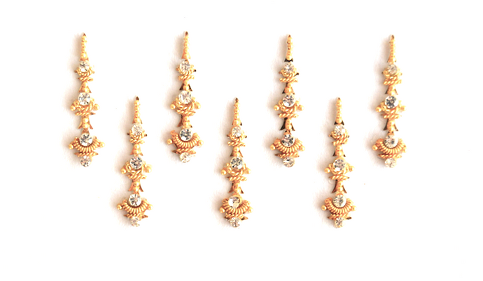 Layer Gold Bindi Pack - We Wear Gems