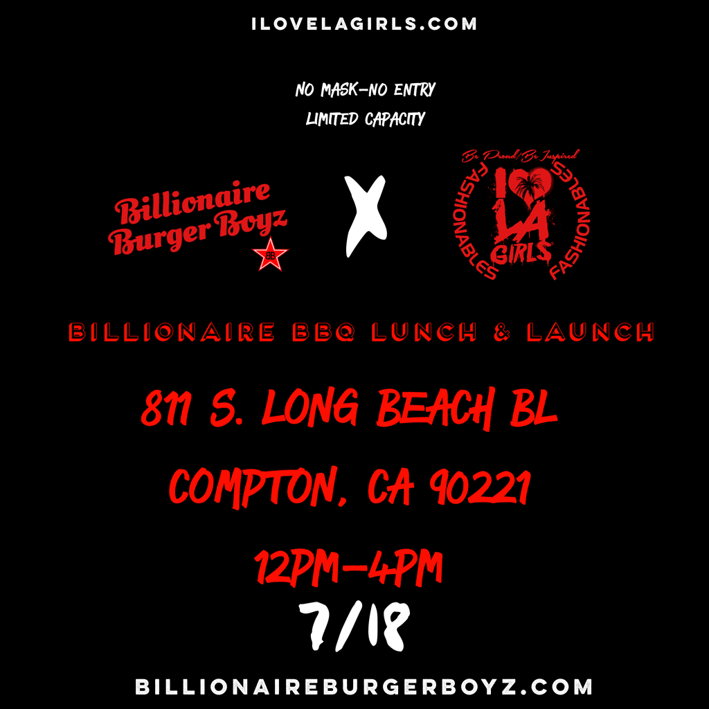 Summer 2020: Billionaire Burger Boyz Collaboration