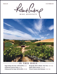 Robert Parker Wine Advocate Issue 233 Back Issue Order Page