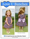 "Polka Dot Party Dress (for 16"" dolls such as A Girl for All Time®)"