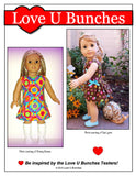 "Polka Dot Party Dress (for 18"" dolls such as American Girl®)"