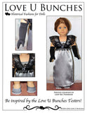 "Lady Lilly Winter Evening Dress (for 18"" dolls such as American Girl®)"