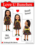 "Polka Dot Party Dress (for 13""-14"" dolls such as Hearts for Hearts Girls® and Les Cheries®)"
