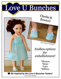 "Plain Jane Shoes (for 18"" dolls such as Journey Girls®)"