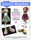 "Plain Jane Shoes (designed to fit 13"" dolls such as Little Darling)"