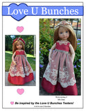 "Princess Anya (designed to fit 13"" dolls such as Little Darling)"