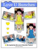 "Plain Jane Shoes (for 14.5"" dolls such as Wellie Wishers™)"