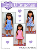 "Polka Dot Party Dress (for 14.5"" dolls such as Wellie Wishers™)"